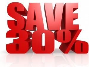 Save over 30% with outsoursing