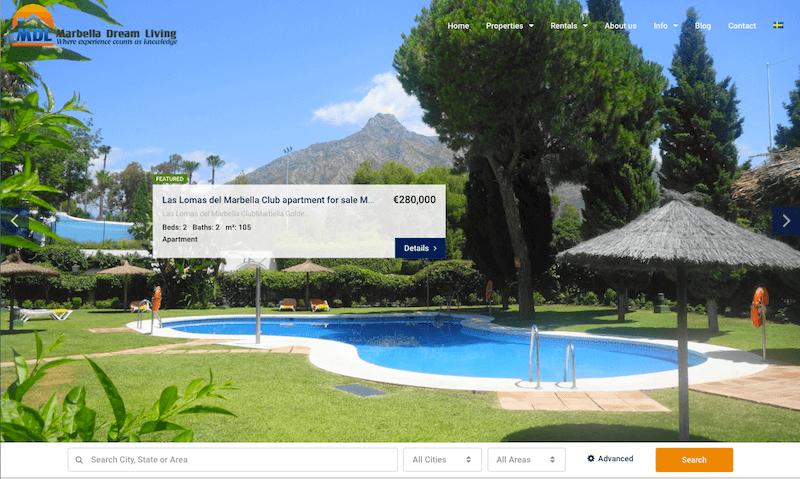 Marbella web design