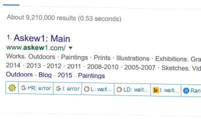 Type Askew into Google