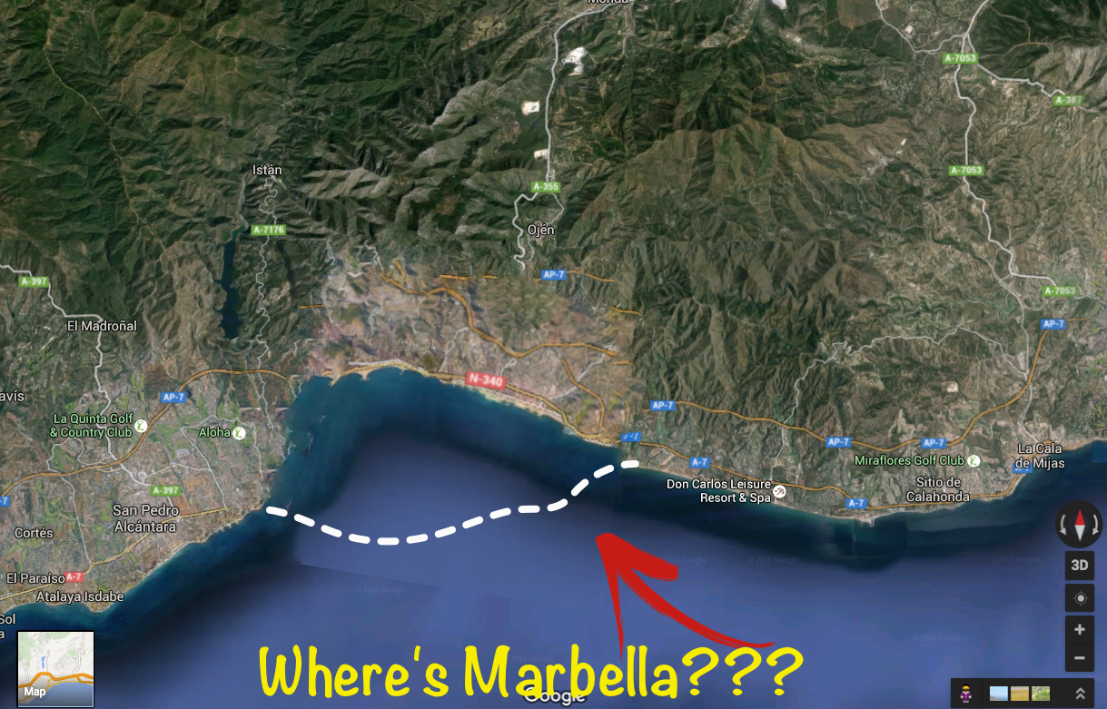 Marbella After removal