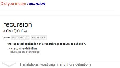 recursion_google